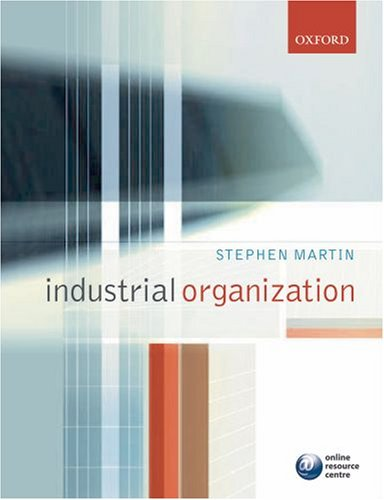Industrial Organization in Context 9780199291199