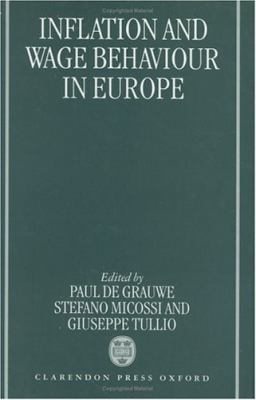 Inflation and Wage Behaviour in Europe 9780198289869