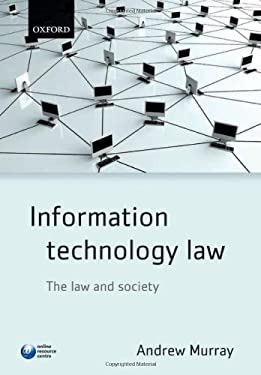 Information Technology Law: The Law and Society 9780199548422