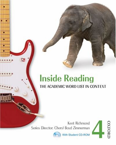 Inside Reading 4: The Academic Word List in Context [With CDROM] 9780194416153