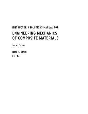 Recent Advances in Experimental Mechanics. In Honor of Isaac M. Daniel