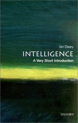 Intelligence: A Very Short Introduction 9780192893215