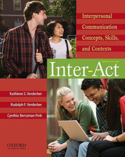 interpersonal communication concepts in movies Manica hing cms 330 spring 2014 interpersonal communication in  the  primary communication concepts presented in the film include.