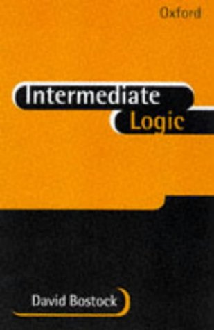 Intermediate Logic 9780198751427