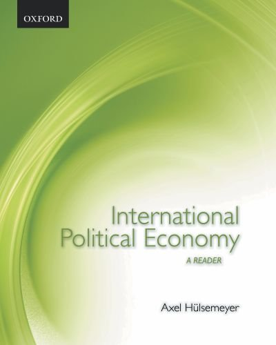 International Political Economy: A Reader 9780195429107