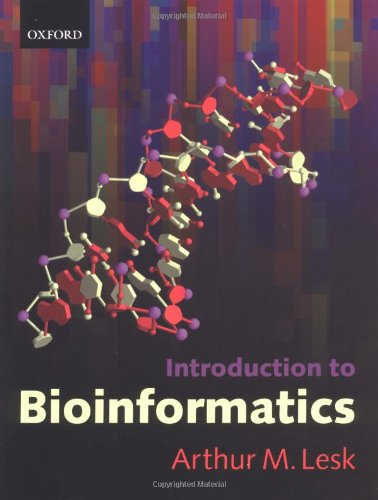 Introduction to Bioinformatics 9780199251964