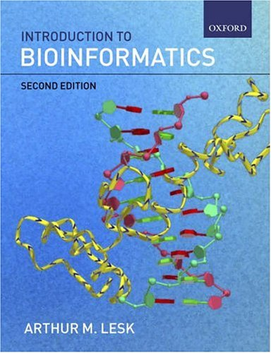 Introduction to Bioinformatics 9780199277872