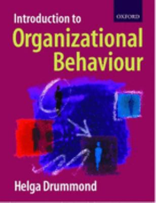 Introduction to Organizational Behaviour 9780198782179