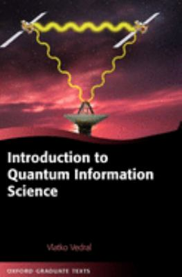 Introduction to Quantum Information Science 9780199215706