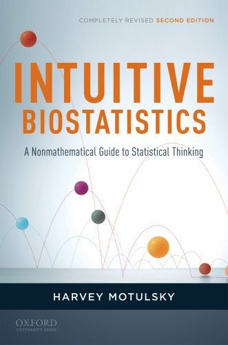 Intuitive Biostatistics: A Nonmathematical Guide to Statistical Thinking 9780199730063