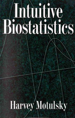 Intuitive Biostatistics 9780195086072