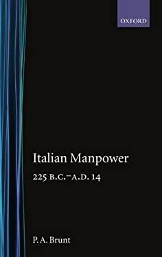 Italian Manpower 225 B.C.-A.D. 14 9780198142836