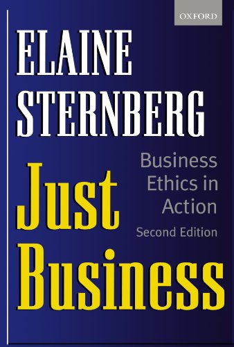 Just Business: Business Ethics in Action 9780198296638