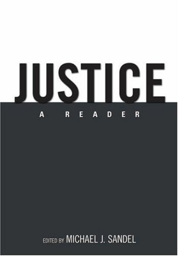 Justice: A Reader 9780195335125