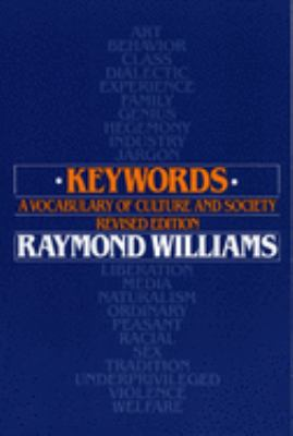 Keywords: A Vocabulary of Culture and Society 9780195204698