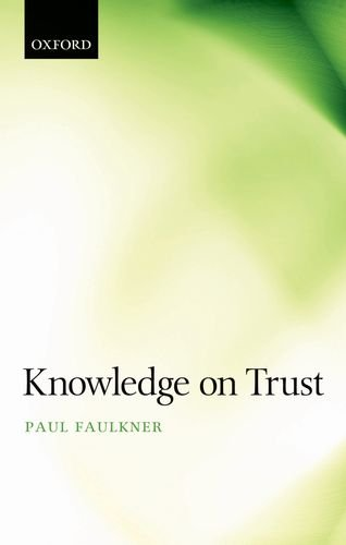 Knowledge on Trust 9780199589784