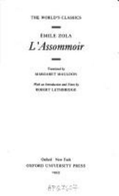 L'Assommoir 9780192829832