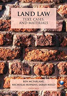 Land Law: Text, Cases, and Materials 9780199208210