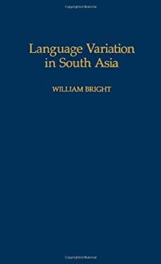 Language Variation in South Asia 9780195063653