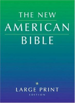 Large Print Bible-Nab 9780195289077