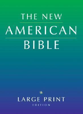Large Print Bible-Nab 9780195289091