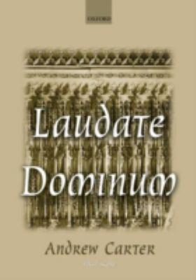 Laudate Dominum: Vocal Score 9780193355040