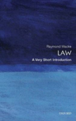 Law: A Very Short Introduction 9780199214969