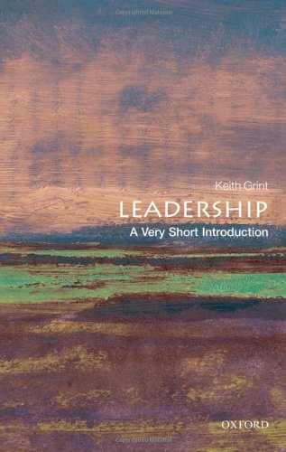 Leadership: A Very Short Introduction 9780199569915