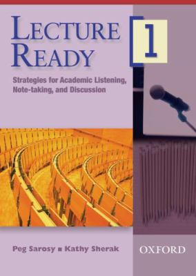Lecture Ready 1 DVD: Strategies for Academic Listening, Note-Taking, and Discussion