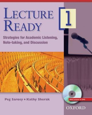 Lecture Ready 1 Student Book with DVD: Strategies for Academic Listening, Note-Taking, and Discussion 9780194417006
