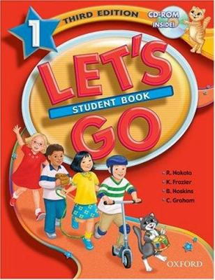 Let's Go 1 Student Book [With CDROM] 9780194394321