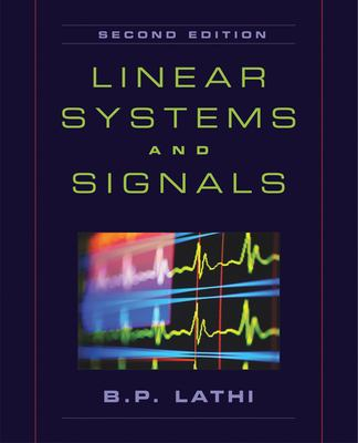 Linear Systems and Signals 9780195158335