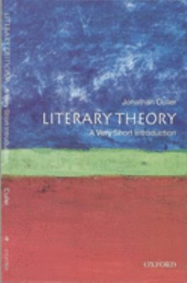 Literary Theory: A Very Short Introduction 9780192853837
