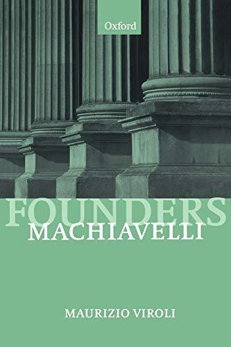 Machiavelli 9780198780892