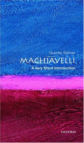Machiavelli: A Very Short Introduction 9780192854070