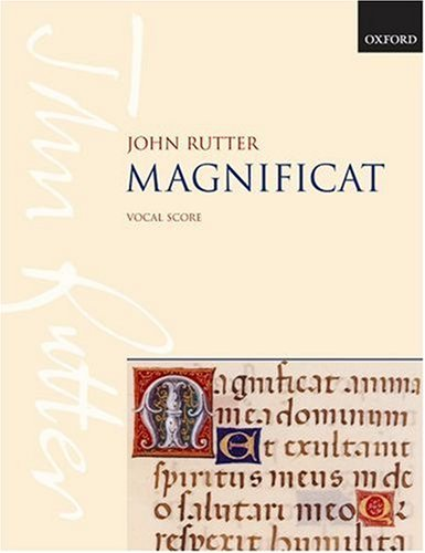 Magnificat for Soprano or Mezzo-Soprano Solo, Mixed Choir, and Orchestra (or Chamber Ensemble) 9780193380370