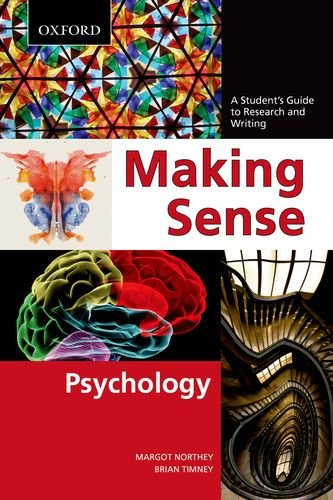 Making Sense in Psychology: A Student's Guide to Research and Writing 9780195440256