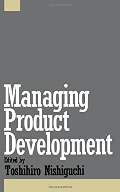 Managing Product Development 9780195074383