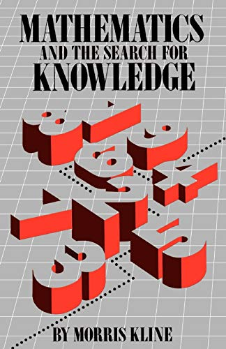 Mathematics and the Search for Knowledge 9780195042306