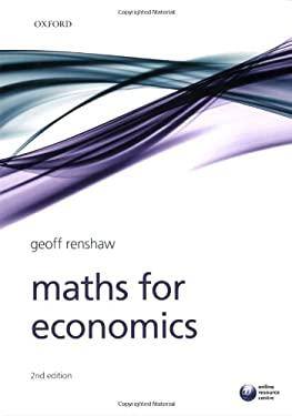 Maths for Economics 9780199236817