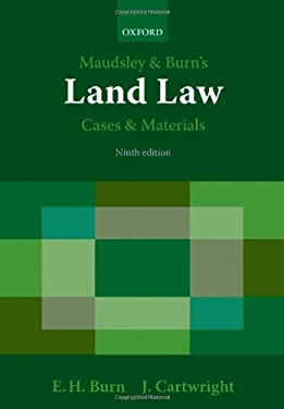 Maudsley & Burn's Land Law Cases and Materials 9780199226177