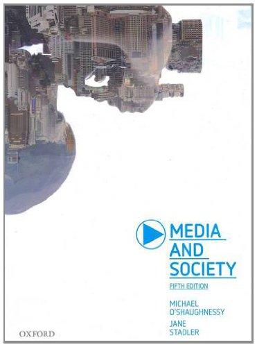 Media and Society 9780195574340