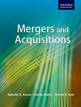 Mergers and Acquisitions 9780198064510