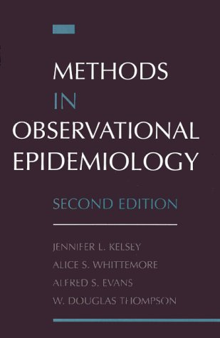 Methods in Observational Epidemiology 9780195083774