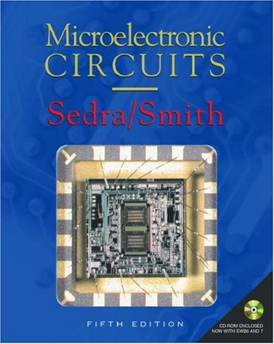 Microelectronic Circuits: Includes CD-ROM 9780195142518