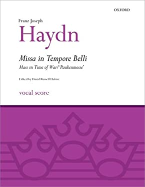 Missa in Tempore Belli (Mass in Time of War/Paukenmesse): Vocal Score 9780193367920