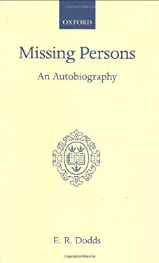 Missing Persons: An Autobiography 9780198120865