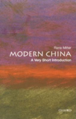 Modern China: A Very Short Introduction 9780199228027