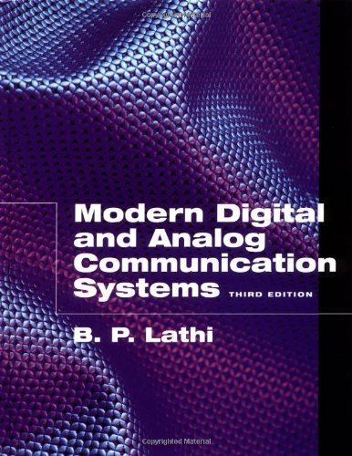 Modern Digital and Analog Communication Systems 9780195110098
