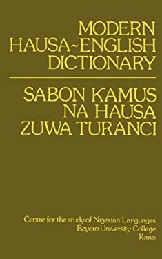 Modern Hausa-English Dictionary 9780195753035